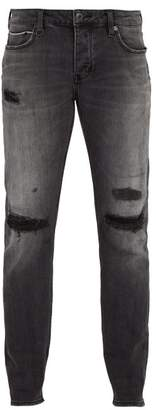Neuw Iggy Distressed Skinny Jeans - Mens - Black