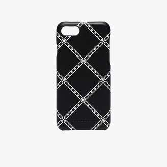 Burberry Black Rufus iPhone 8 Chain Print Case