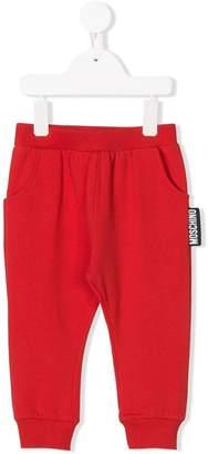 Moschino Kids branded jogging bottoms