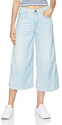 G Star Women's Spiraq 3D High Waist Culotte Jeans,W