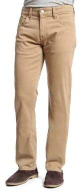 Mavi Jeans Zach British Khaki Twill Straight-Leg Pants