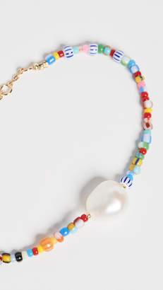 Alaia Anni Lu Baroque Pearl Bracelet