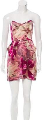 Mason Printed Silk Dress