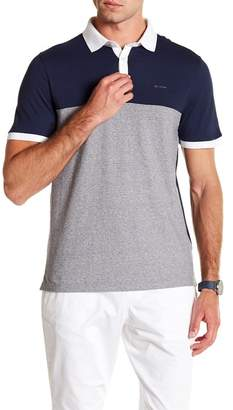 Calvin Klein Chest Stripe Texture Polo