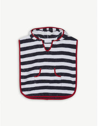 The Little White Company Striped towelling cotton cover-up 2-5 years