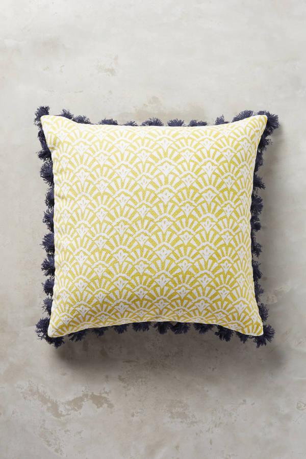 AnthropologieAnthropologie Folding Fans Pillow