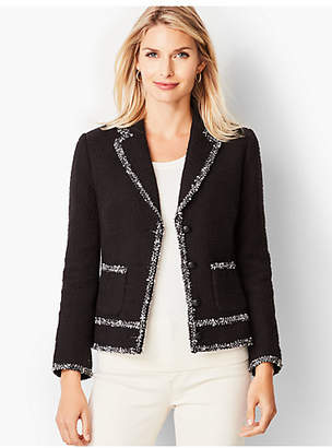 Talbots Tweed Trim Jacket