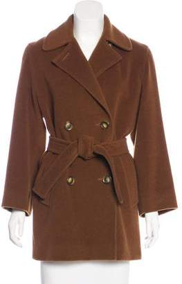 Cinzia Rocca Double-Breasted Wool Coat