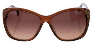 Emilio Pucci Gradient Oversize Sunglasses