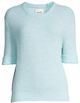 KHAITE Women's Lydia Cashmere-Blend Sweater