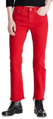 Polo Ralph Lauren Chrystie Kick Flare Cotton Jeans
