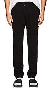 Aztech Mountain AZTECH MOUNTAIN MEN'S STRETCH-JERSEY DRAWSTRING LOUNGE PANTS-BLACK SIZE XL