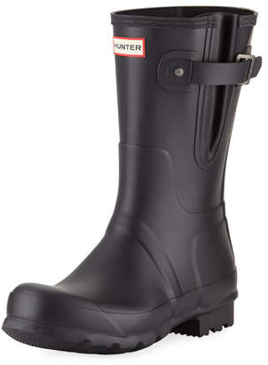 Hunter Men's Original Side-Adjustable Short Boot, Black