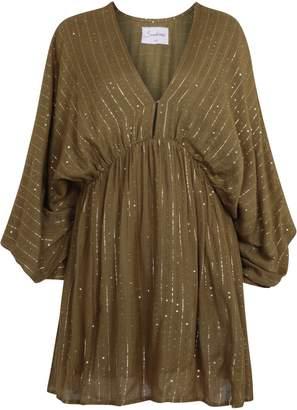 SUNDRESS Khaki Erin Roma Dress - XS/S - Green