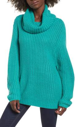 Leith Oversize Turtleneck Sweater