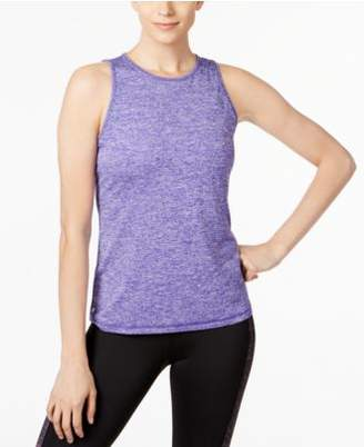 Macy's Ideology Heathered Keyhole-Back Tank Top, Created for