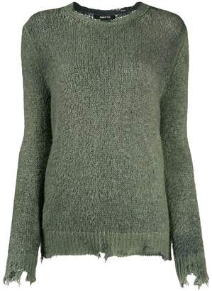 Avant Toi distressed finish jumper