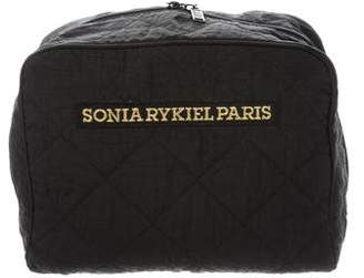 Sonia Rykiel Quilted Cosmetic Bag