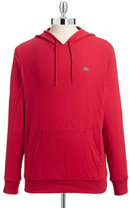 Lacoste Drawstring Pullover Hoodie