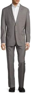 Armani Collezioni Buttoned Wool Suit