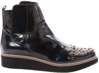 Moschino Love Black Patent leather Boots