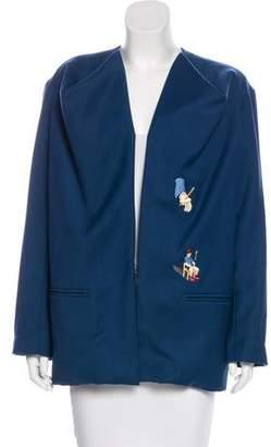 Bernhard Willhelm Embroidered Jacket