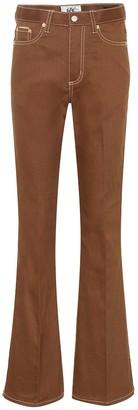 Eytys Oregon Twill high-rise flared jeans