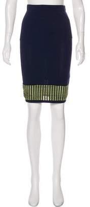 Jonathan Simkhai Accented Hem Mini Skirt