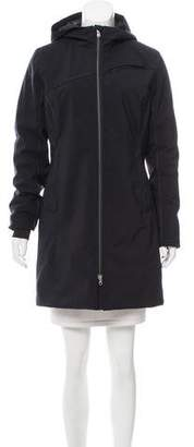 Spyder Hooded Knee-Length Coat