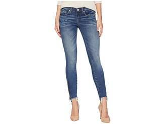 Blank NYC Denim Skinny with Bottom Zipper Detail in Interoffice