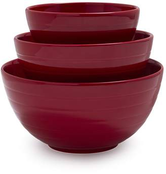 Sur La Table Ceramic Mixing Bowls, Set of 3