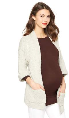 A Pea in the Pod Drop Shoulder Maternity Cardigan