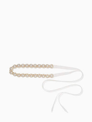 Kate Spade Pearl and stone belt