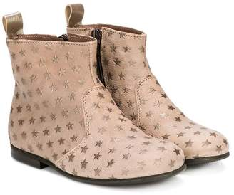 Pépé checked boots