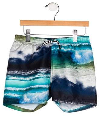 Molo Boys' Printed Swim Shorts