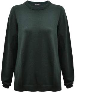 THE AVANT - Extrafine Merino Sweater In Forrest Green