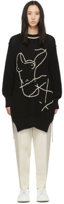 Jil Sander Black Female Body Sweater