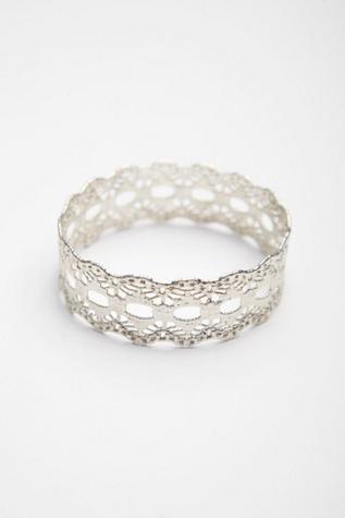 Free People BELART Lace Dipped Bracelet