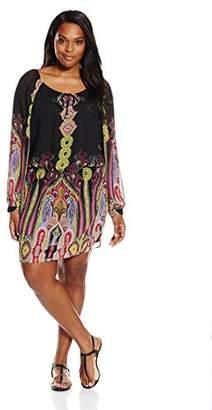 Single Dress Women's Plus Size Peasant Boho $71.94 thestylecure.com
