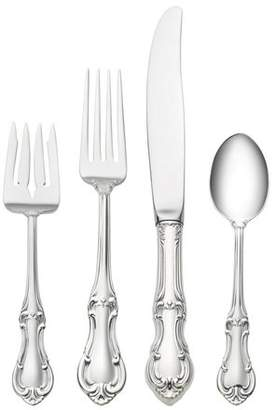International Silver Sterling Silver Joan of Arc 4 Piece Lunch Flatware Setting