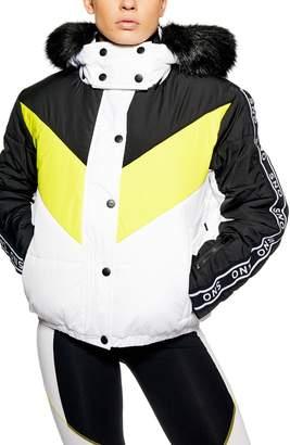 Topshop SNO Lopez Puffer Ski Jacket