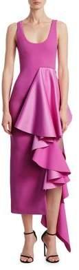 SOLACE London Naya Ruffle Dress