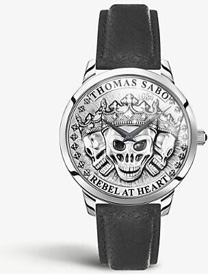 Thomas Sabo WA0355-203-201 Rebel Spirit Skulls stainless steel quartz watch