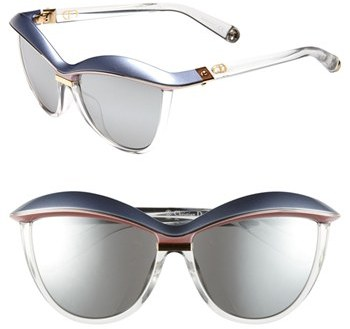 Christian Dior 'Demoiselle 2' 58mm Retro Sunglasses
