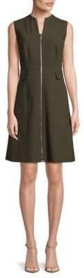Lafayette 148 New York Carlina Solid Sleeveless Dress