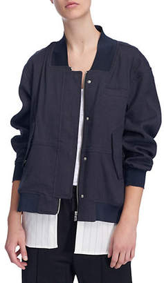 SOSKEN Francis Gab Layered Linen Jacket
