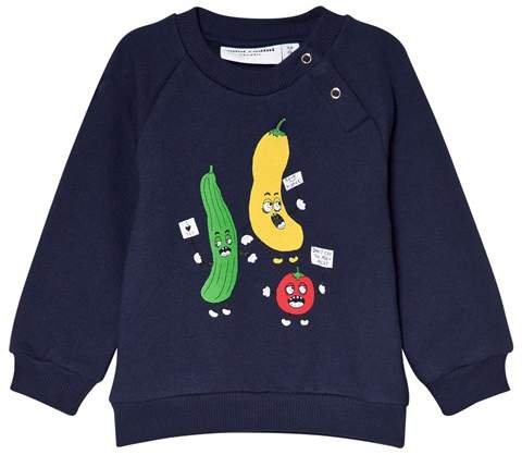 Navy Veggie Sweatshirt