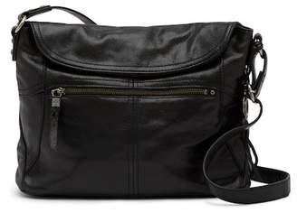 The Sak Esperato Flap Leather Hobo Bag