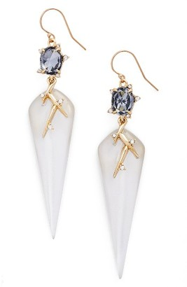 Women's Alexis Bittar Lucite Crystal Drop Earrings $265 thestylecure.com