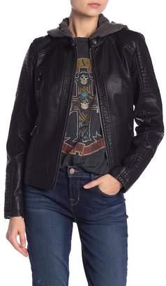 Moto Sebby Faux Leather Jacket